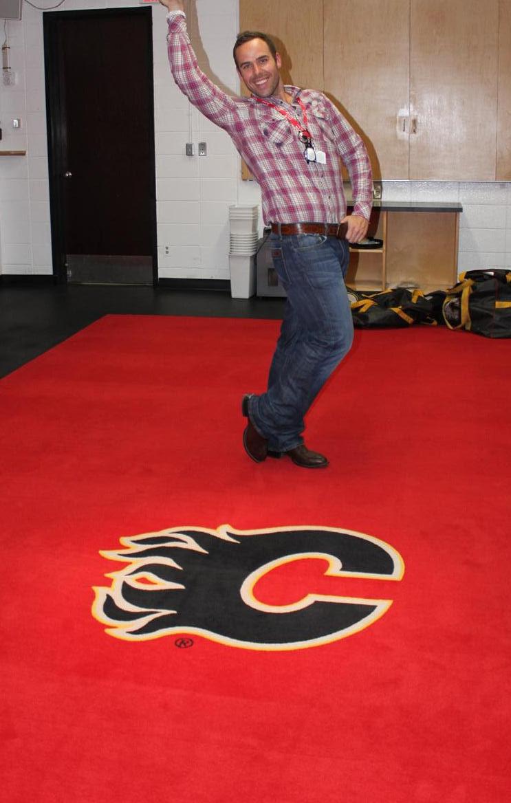 Inside The Calgary Flames Dressing Room Immrfabulous Com